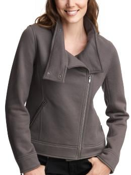 Women's Clothing: Women's Clothing: Knit moto jacket: Jackets Outerwear | Gap