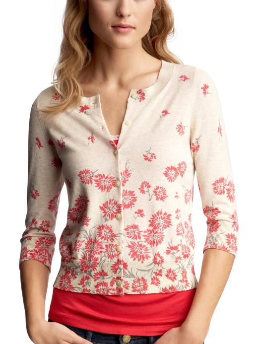 Gap -  Floral Cardigan from gap.com