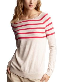 Women's Clothing: Women's Clothing: Striped boatneck sweater: Tops New Arrivals | Gap :  spring clothing warm colors womens