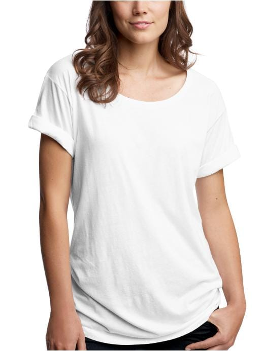 GAP - Cuff-sleeve Tee from gap.com