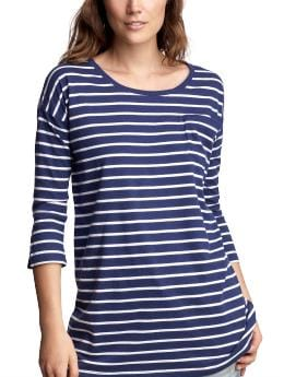 Oversized striped T | Gap