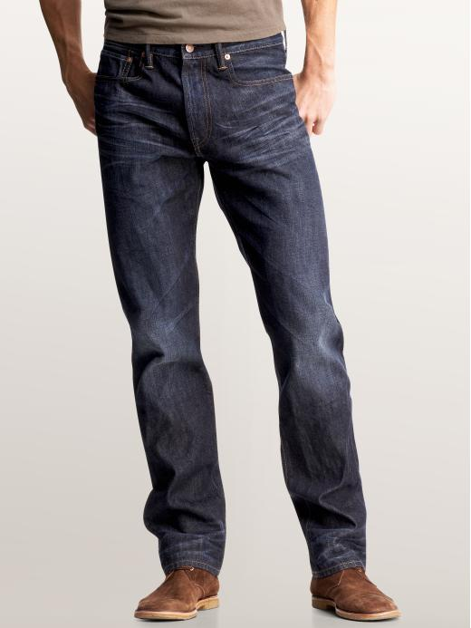 Gap Straight Fit Jeans (Dark Wash)