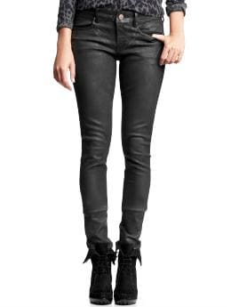 Always skinny jeans (black coated wash) | Gap