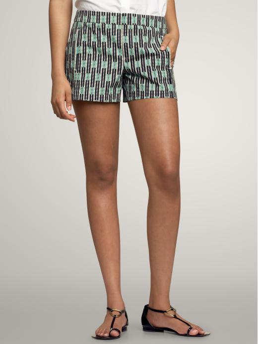 Gap - Geometric shorts :  womens shorts printed shorts gap gap geometric shorts