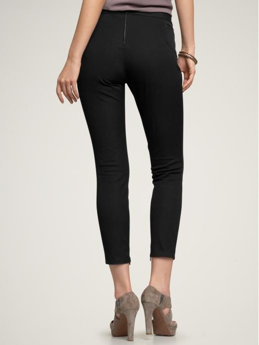 GAP - Zip skinny stretch pants