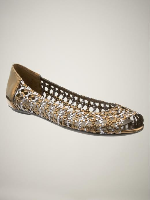 Gap Womens Open Toe Crochet Flats
