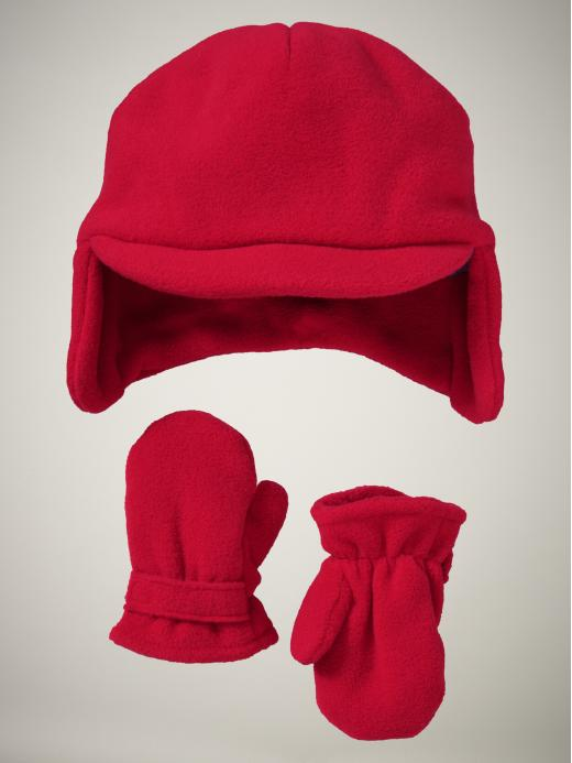 Gap Fleece Hat & Mittens