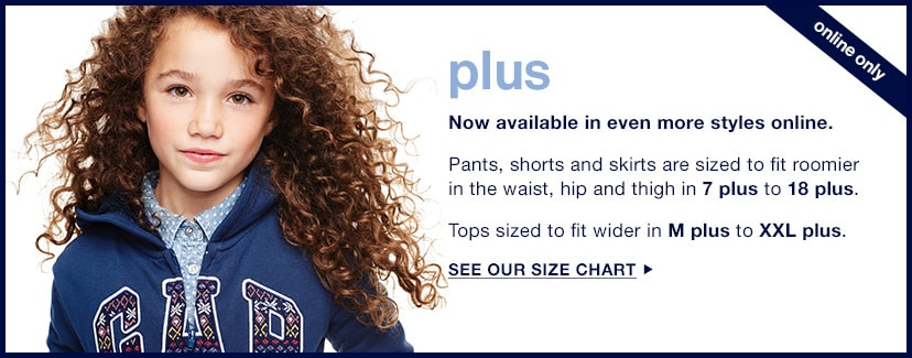 Plus: See Our Size Chart