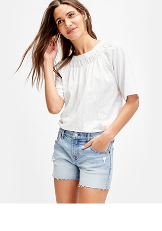 3fe9aca24e040 Women's Shorts | Gap
