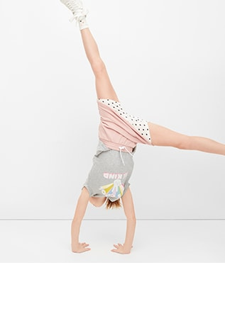 Girls Leggings - Cartwheel Shorts