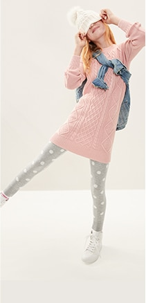 Girls Leggings - Sweater