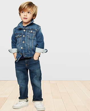 Toddler Boys Denim Shop, Straight