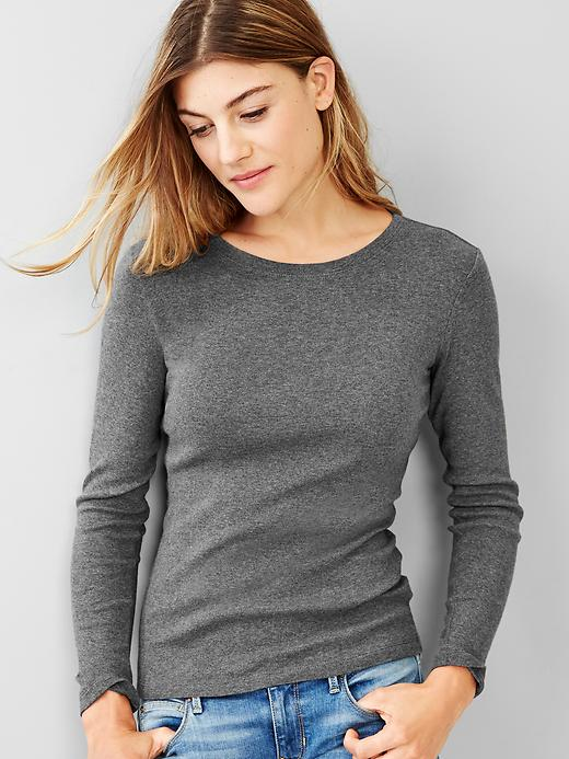 Gap Womens Petite Favorite Long-Sleeved Shirt
