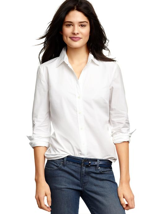 Gap Womens Petite Perfect Shirt