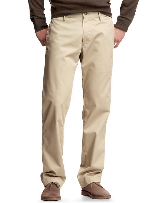 Gap Mens The Classic Khaki Straight Fit Pants