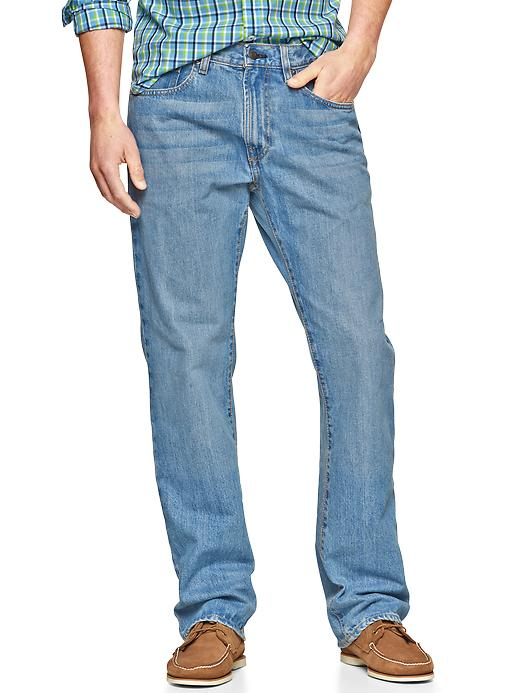 Gap Mens Stonewash Easy Fit Jeans