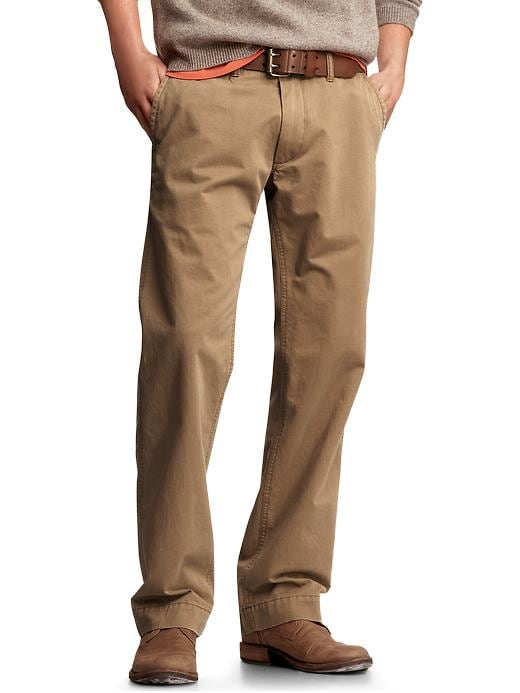 Gap Mens The Vintage Khaki Pants