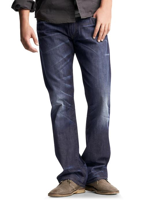 Gap Mens Boot Fit Jeans Indigo Wash
