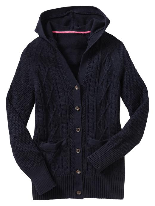 Gap Uniform Cable Hooded Cardigan $ 29.95