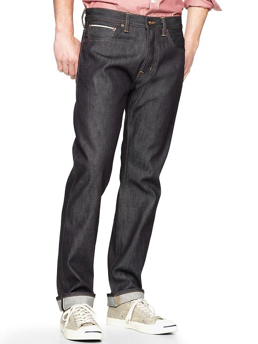 Gap 1969 Selvage Original Fit Jeans Raw Indigo Wash $ 60.99