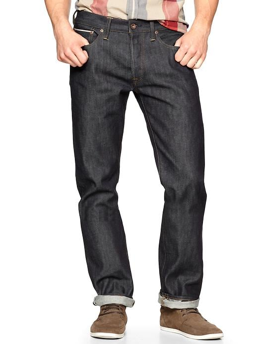 Gap 1969 Selvage Straight Fit Jeans Raw Wash $ 89.95