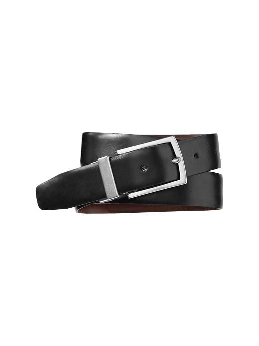 Gap Mens Black Reversible Leather Belt