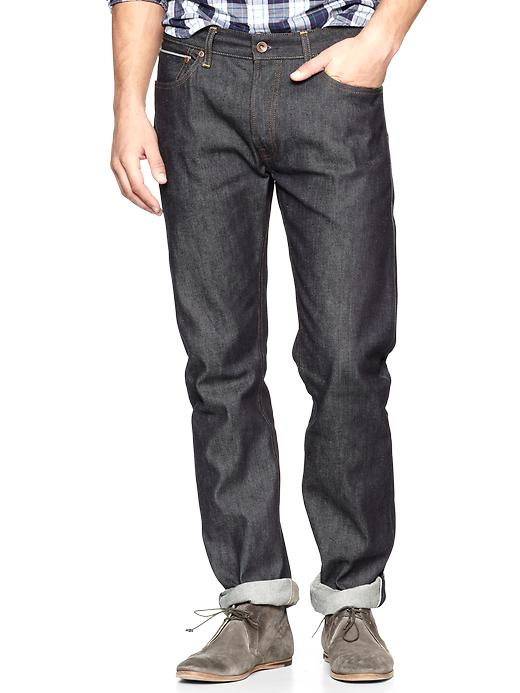 Gap 1969 Selvage Slim Fit Jeans Raw Indigo $ 89.95