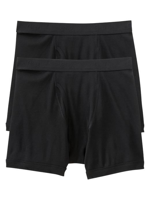 Gap Mens Black Classic Boxer Briefs 2-Pack