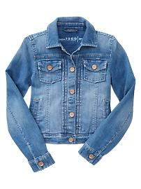 Classic denim jacket (medium wash)