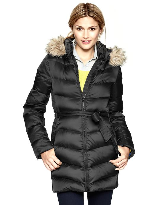 Gap Fur Trim Puffer Jacket $ 141.99