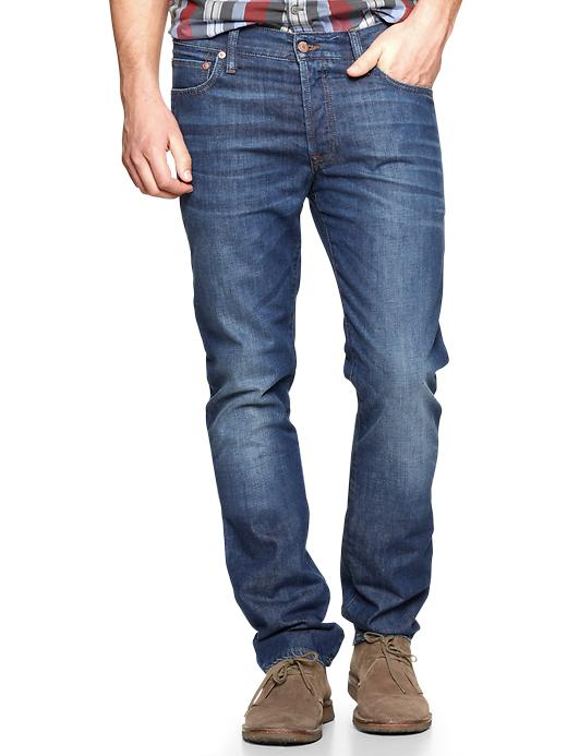 Gap 1969 Authentic Skinny Jeans Rincon Wash $ 69.95