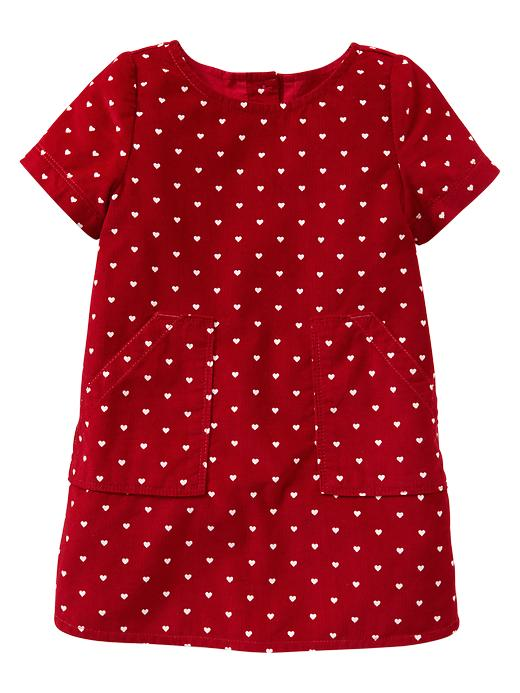 Gap Heart Patch Pocket Dress $ 29.95