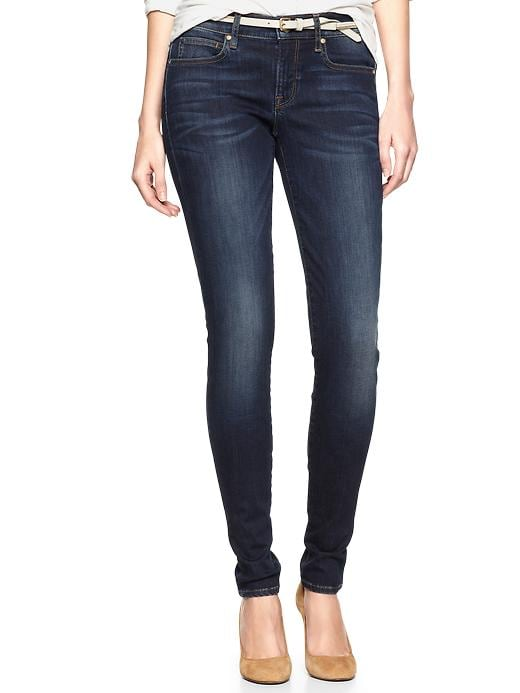 Gap 1969 Legging Jeans - santa cruz blue