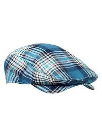 Plaid driver cap