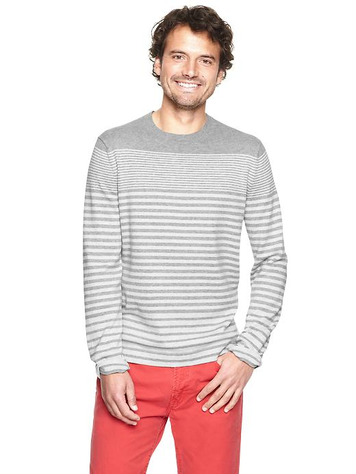 Gap Gradient Stripes Crewneck $ 23.99