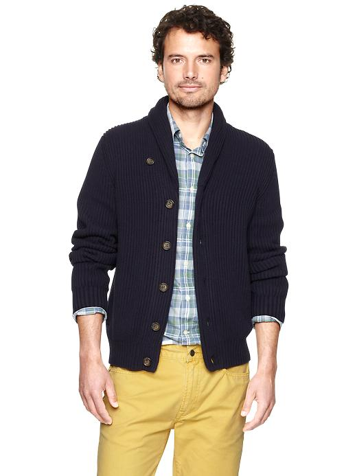 Gap Ribbed Shawl Cardigan $ 58.99