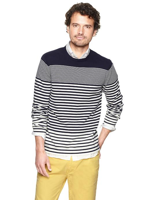 Gap Gradient Stripes Crewneck $ 24.99