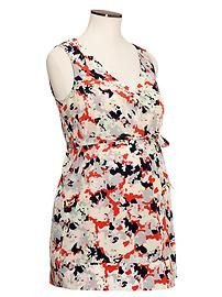 Floral sleeveless shirt