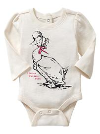 Peter Rabbit&#153 puff-sleeve bodysuit