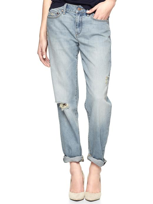 Gap 1969 Destructed Sexy Boyfriend Jeans