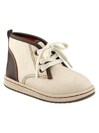 Chukka canvas sneakers