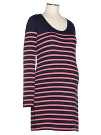 Harbor jersey striped dress