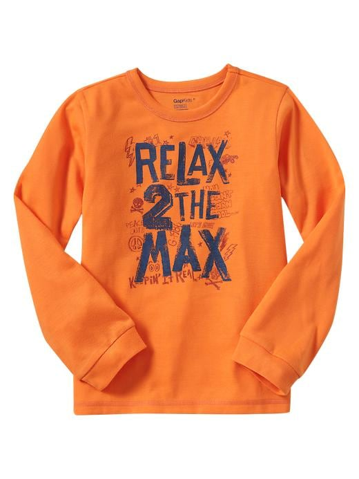 Gap Long Sleeve Graphic Sleep T $ 15.99