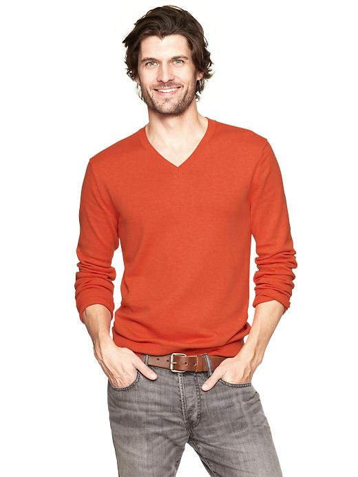 Gap Cotton V Neck Sweater $ 25.99