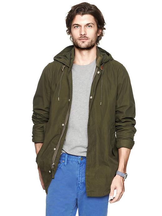 Gap Cotton Parka Jacket $ 71.99