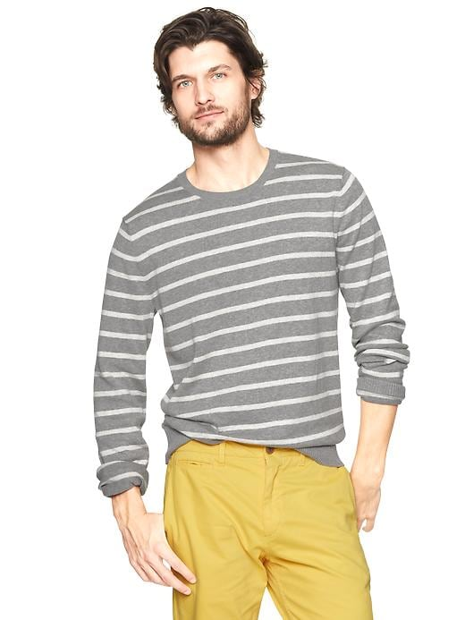 Gap Striped Crewneck Sweater $ 23.99