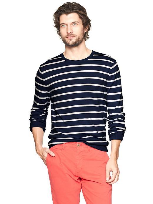 Gap Striped Crewneck Sweater $ 28.99