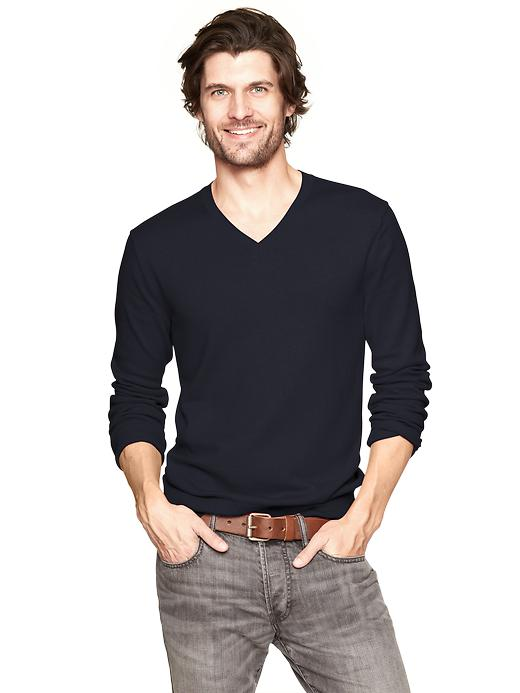 Gap Cotton V Neck Sweater $ 39.95