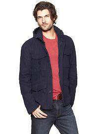 Four-pocket fatigue jacket