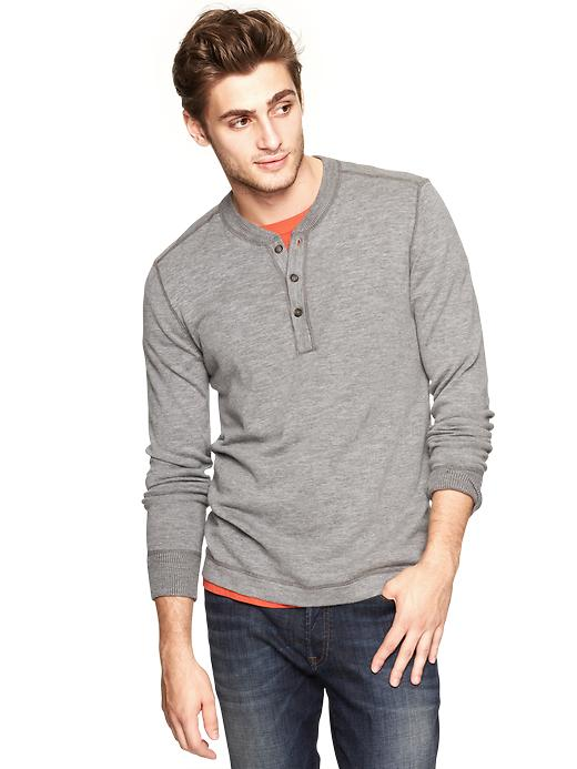 Gap Cotton Slub Henley $ 39.99